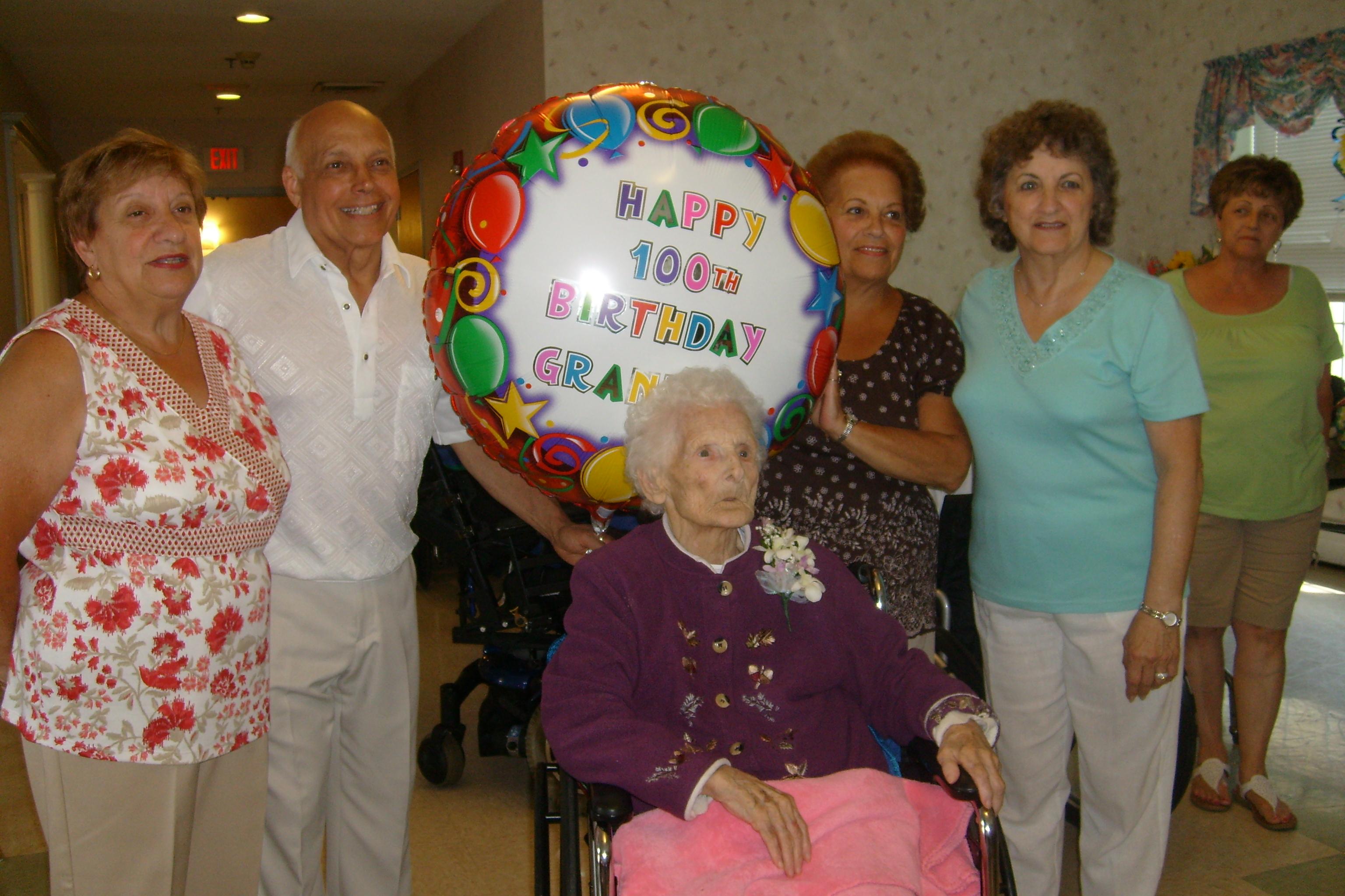 Mary's 100th Birthday