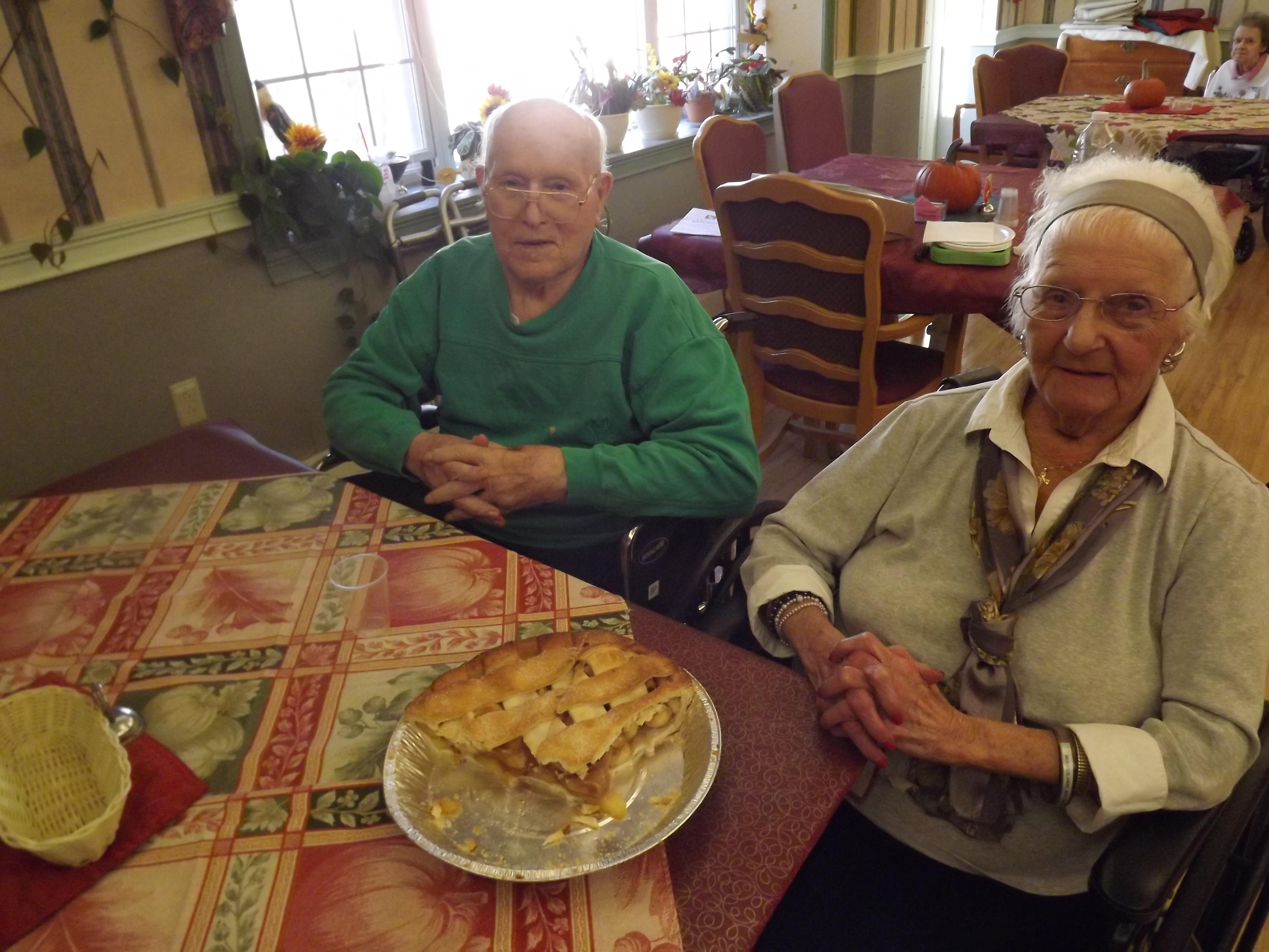 Resident  judged pie contest